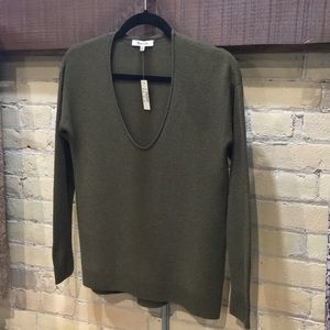 Madewell Green Kimball Pullover Sweater